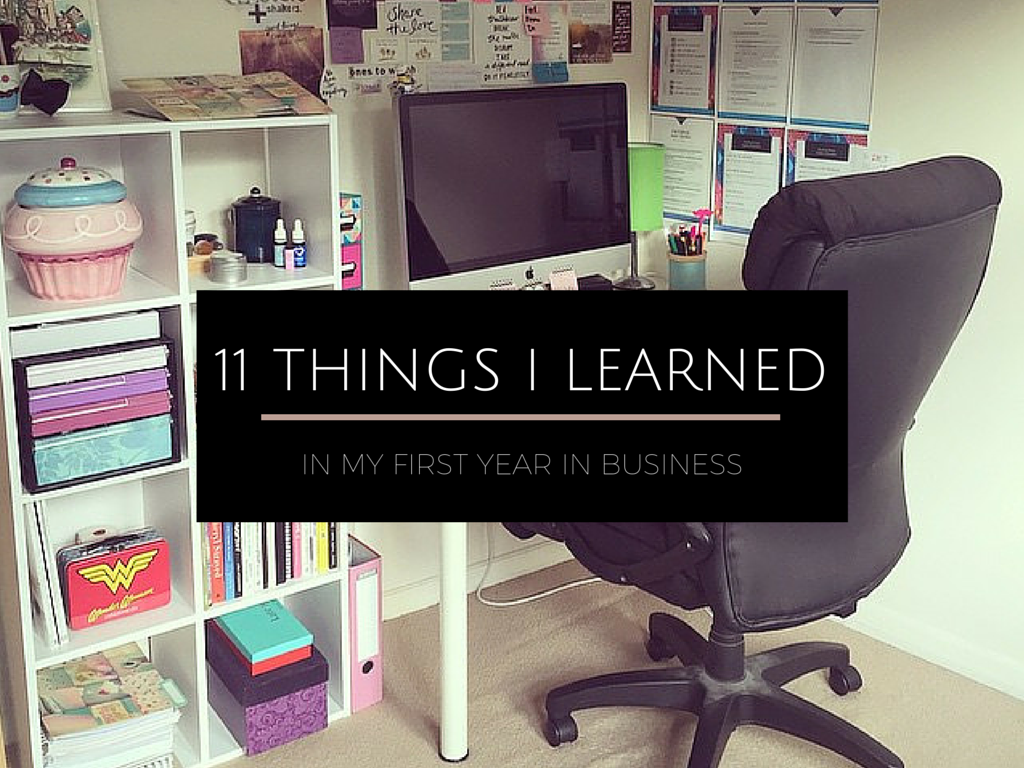first year in business
