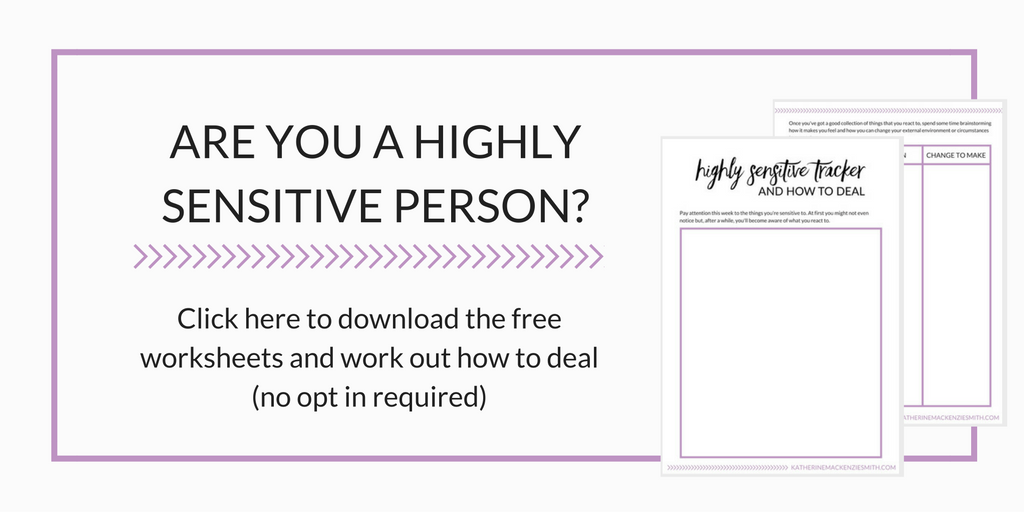 highly-sensitive-person-worksheet